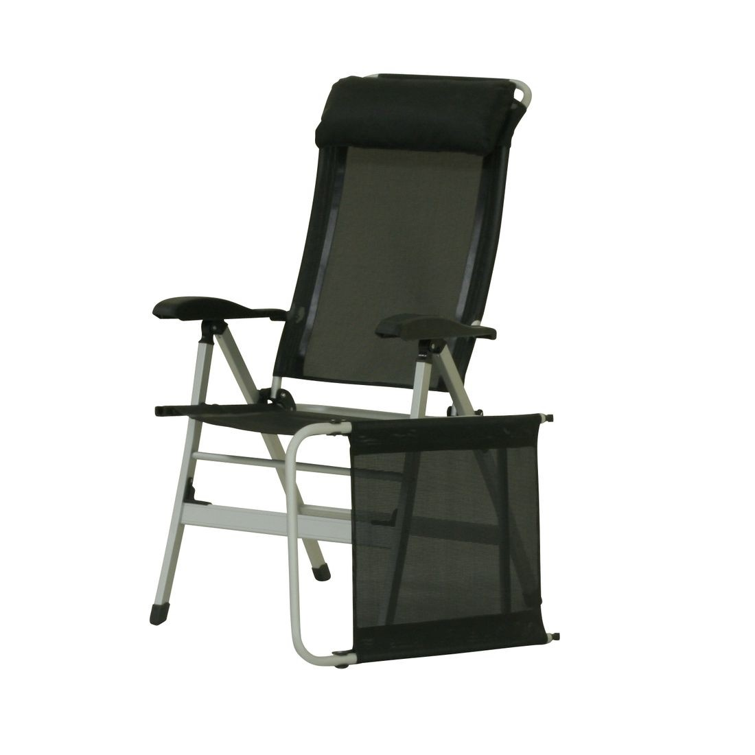 10t easychair aluminium camping chair high back incl for Chaise 3 pieds