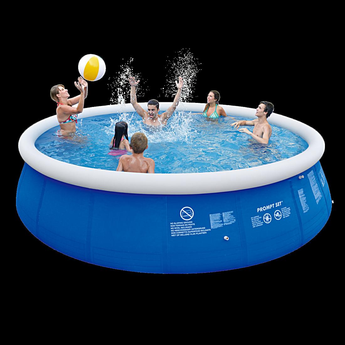 jilong marin blue 540 set quick up pool set 540x122cm mit filterpumpe und kar ebay. Black Bedroom Furniture Sets. Home Design Ideas