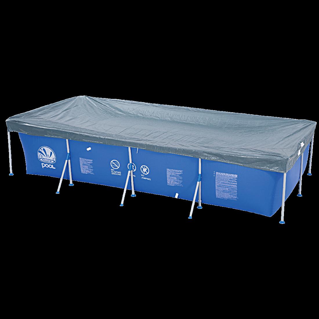 Jilong pc 400 200 sfp couverture de piscine 380x178 pour for Accessoires piscine 01