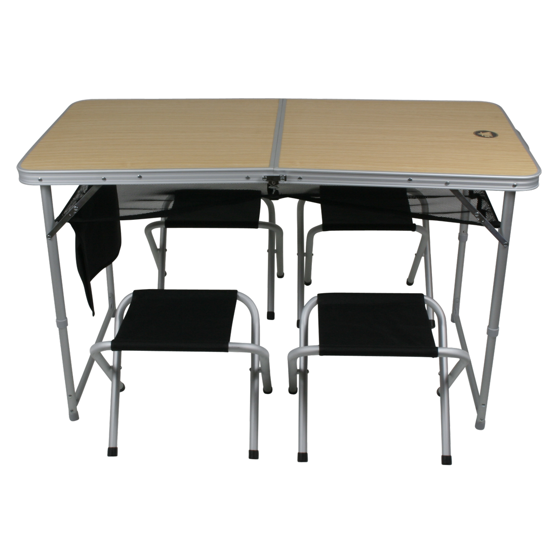 Mobile Table Chair Set, 4-person