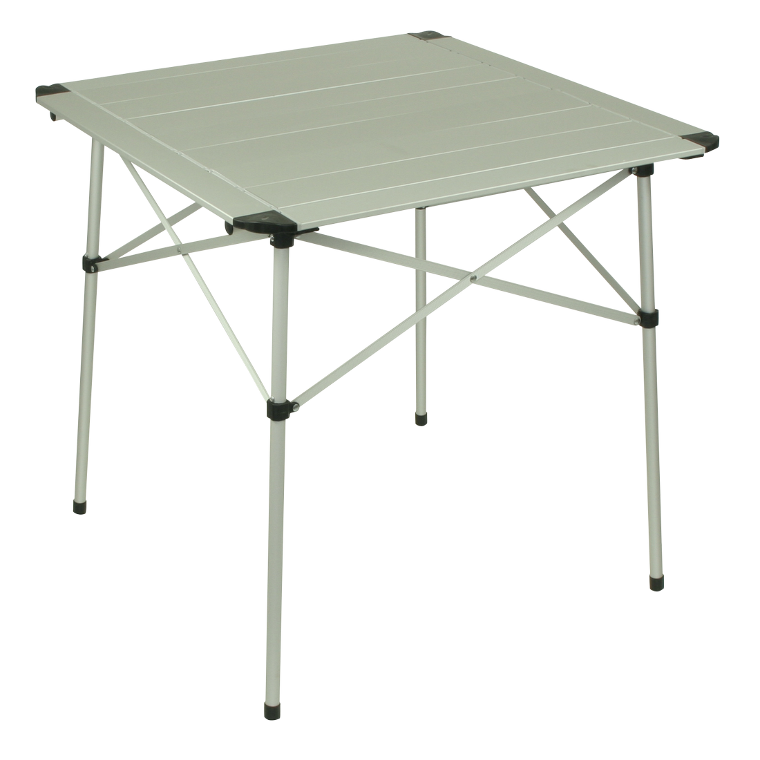 10t alutab light camping table 70x70 cm with disc system for Table exterieur 70x70