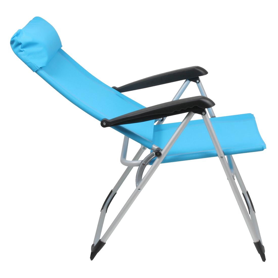 10t camperchair si ge de camping en alu rembourrage de l appui t te d montable pliant. Black Bedroom Furniture Sets. Home Design Ideas