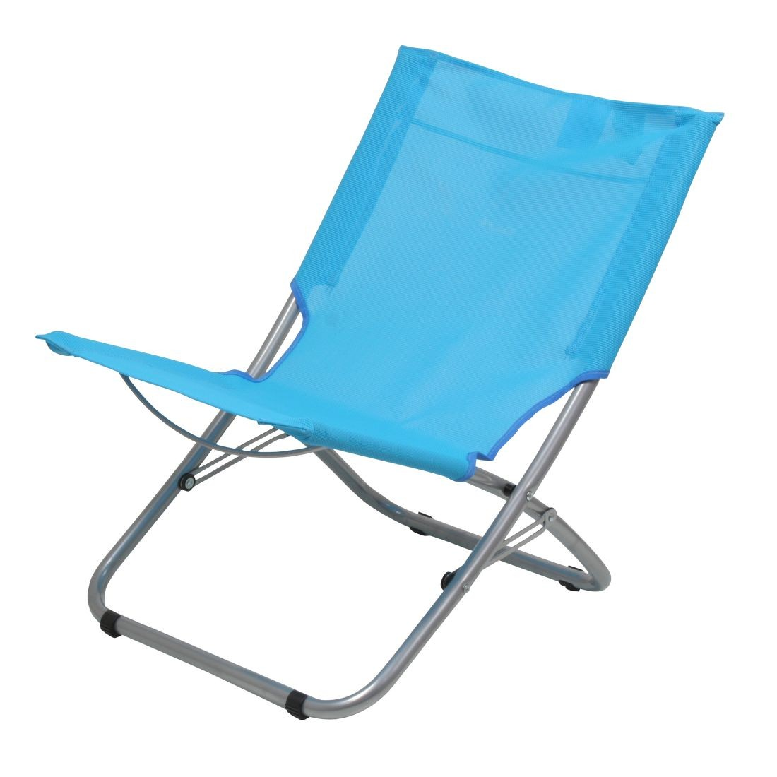 10t sunchair si ge de camping mobile si ge de plage pliant dossier en tissu bleu clair. Black Bedroom Furniture Sets. Home Design Ideas
