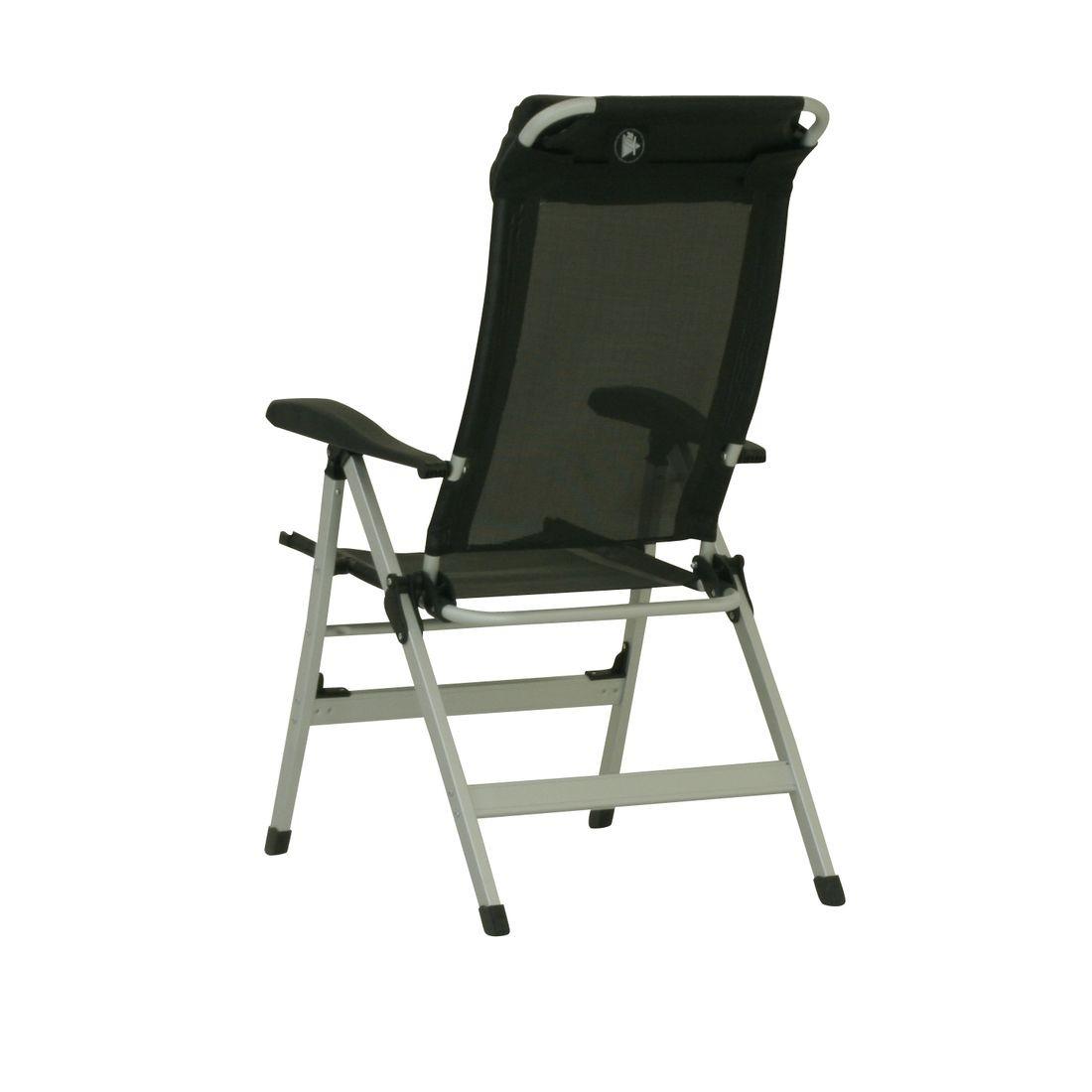 10t easychair aluminium camping chair high back incl