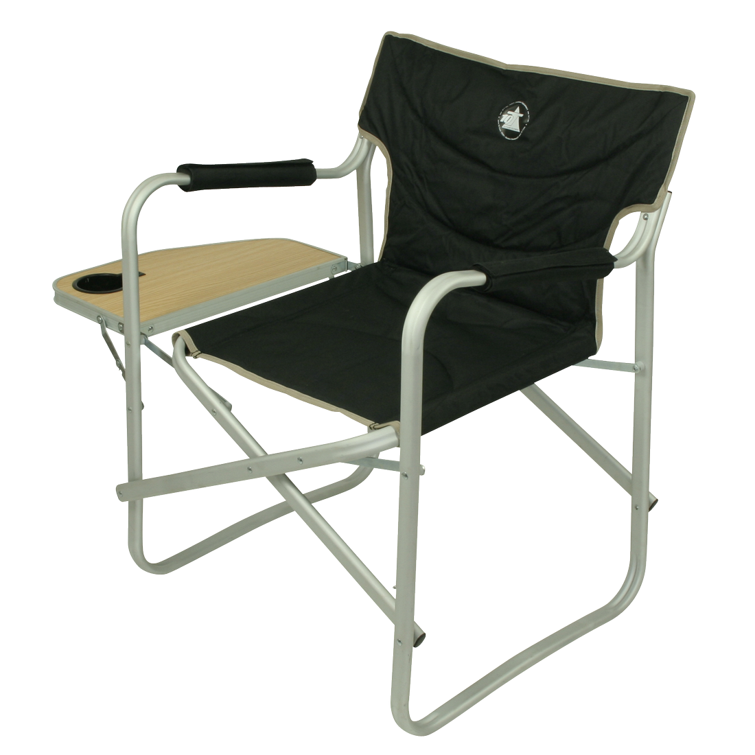 10T Stagedirector Aluminium Camping Chair Director S Chair With Side Pocke