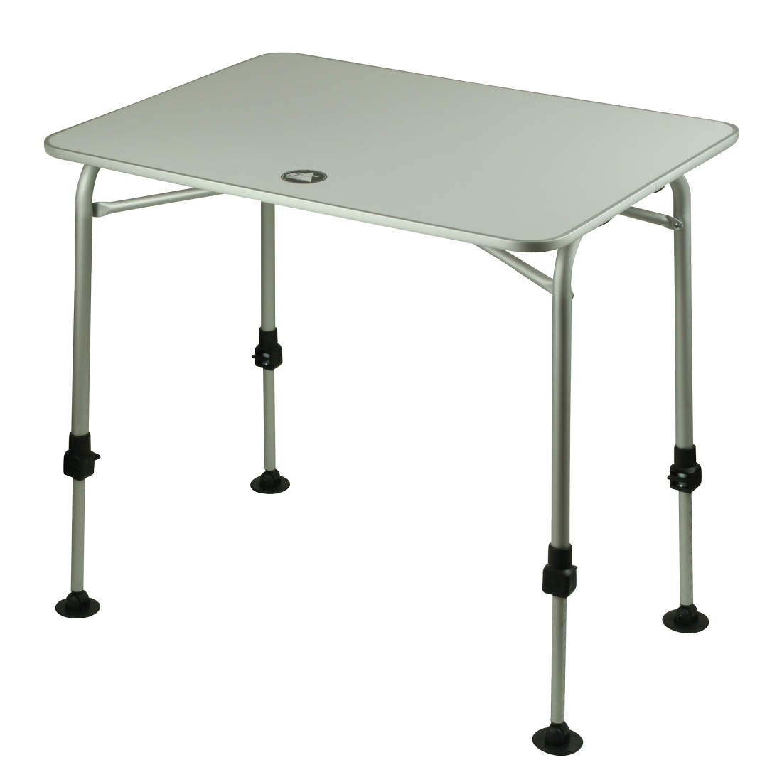10t Flaprack Single Camping Foldable Table 80x60 Cm Stable Aluminium Table Top Telescopic