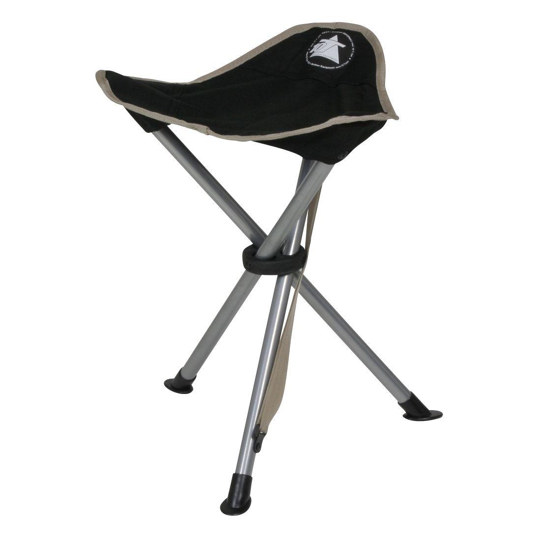 10t Tripod Camping Chair Three Leg Stool 45 Cm Seat