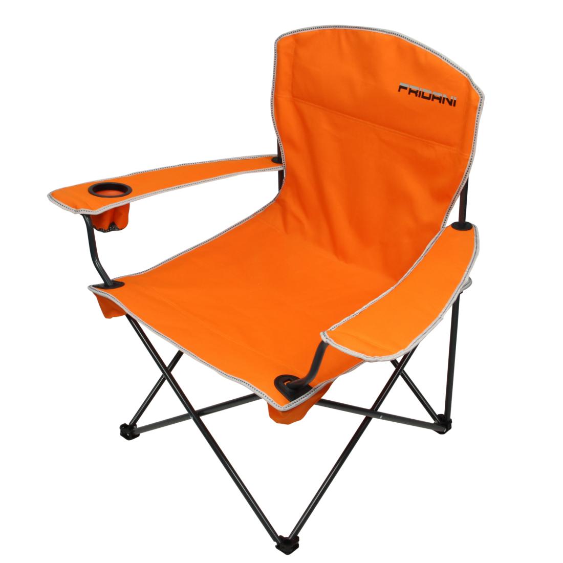 Fridani fco 90 xxl silla de camping con reposabrazos for Mobiliario para camping
