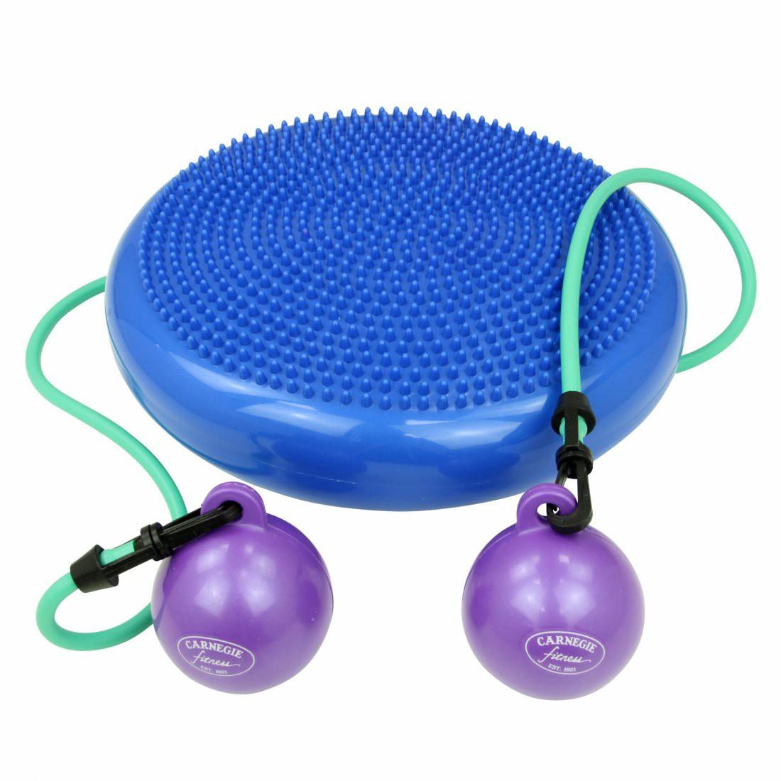 buy carnegie h o patentierte kombination von pilates kissen toning balls und expander all in. Black Bedroom Furniture Sets. Home Design Ideas