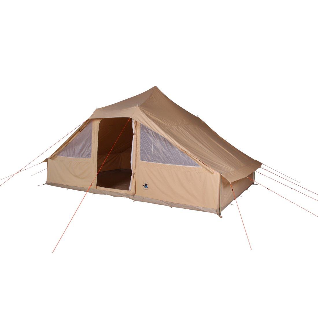 10t sudan 4 8 personen baumwoll hauszelt festeingen hte bodenwanne von 10t outdoor equipment. Black Bedroom Furniture Sets. Home Design Ideas