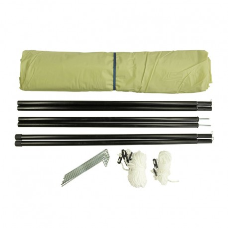 10t beechnut tarp 4x4 sonnensegel uv50 sonnenschutz garten. Black Bedroom Furniture Sets. Home Design Ideas
