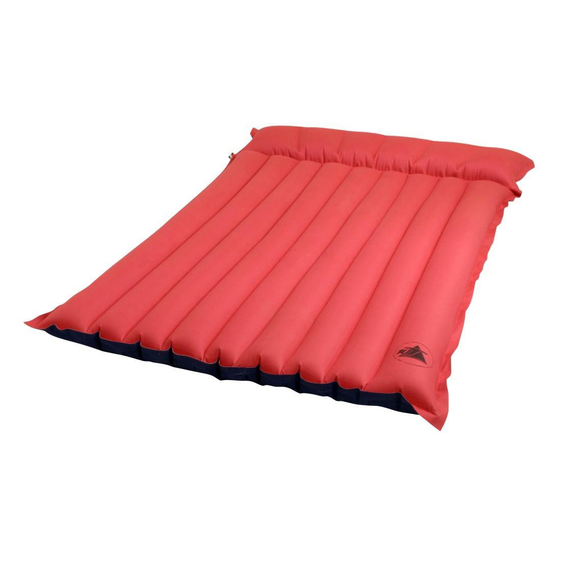 achetez 10t ruby tube double matelas gonflable double en coton avec une partie oreiller en. Black Bedroom Furniture Sets. Home Design Ideas