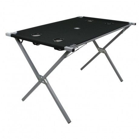 Table Strong Steel Tube Frame With Tearproof Polyester Cover NEW SYSTEM    Stretched Fabric Table Top