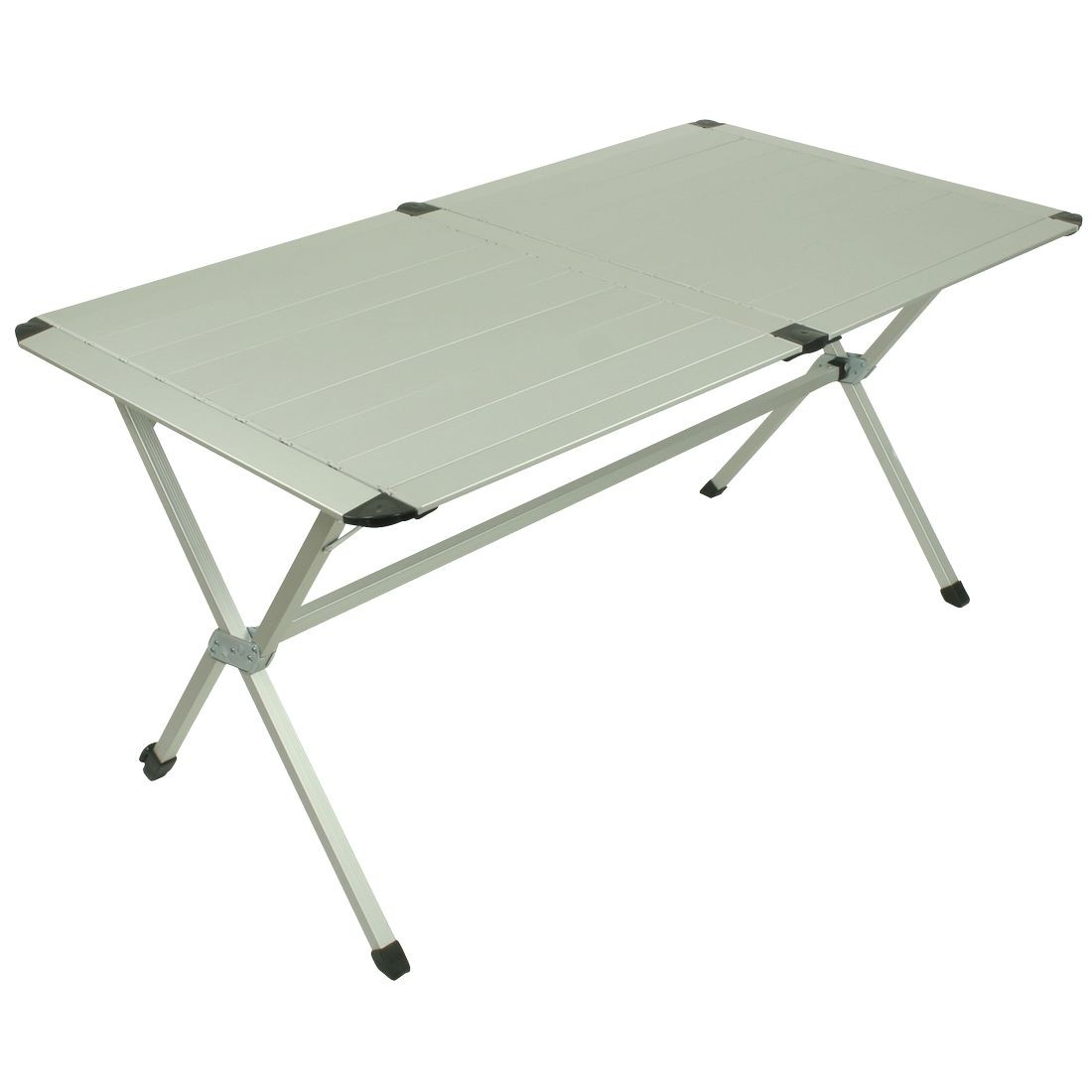 buy 10t alutab trio - camping table, 6 person, 140x80 cm with disc