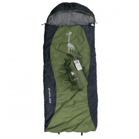 Sleeping Bag Blanket With Hood Incl Packsack Inner Lining Made Of Soft