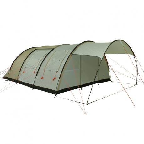 10t leighton 6 tente tunnel 6 places avec un grand. Black Bedroom Furniture Sets. Home Design Ideas