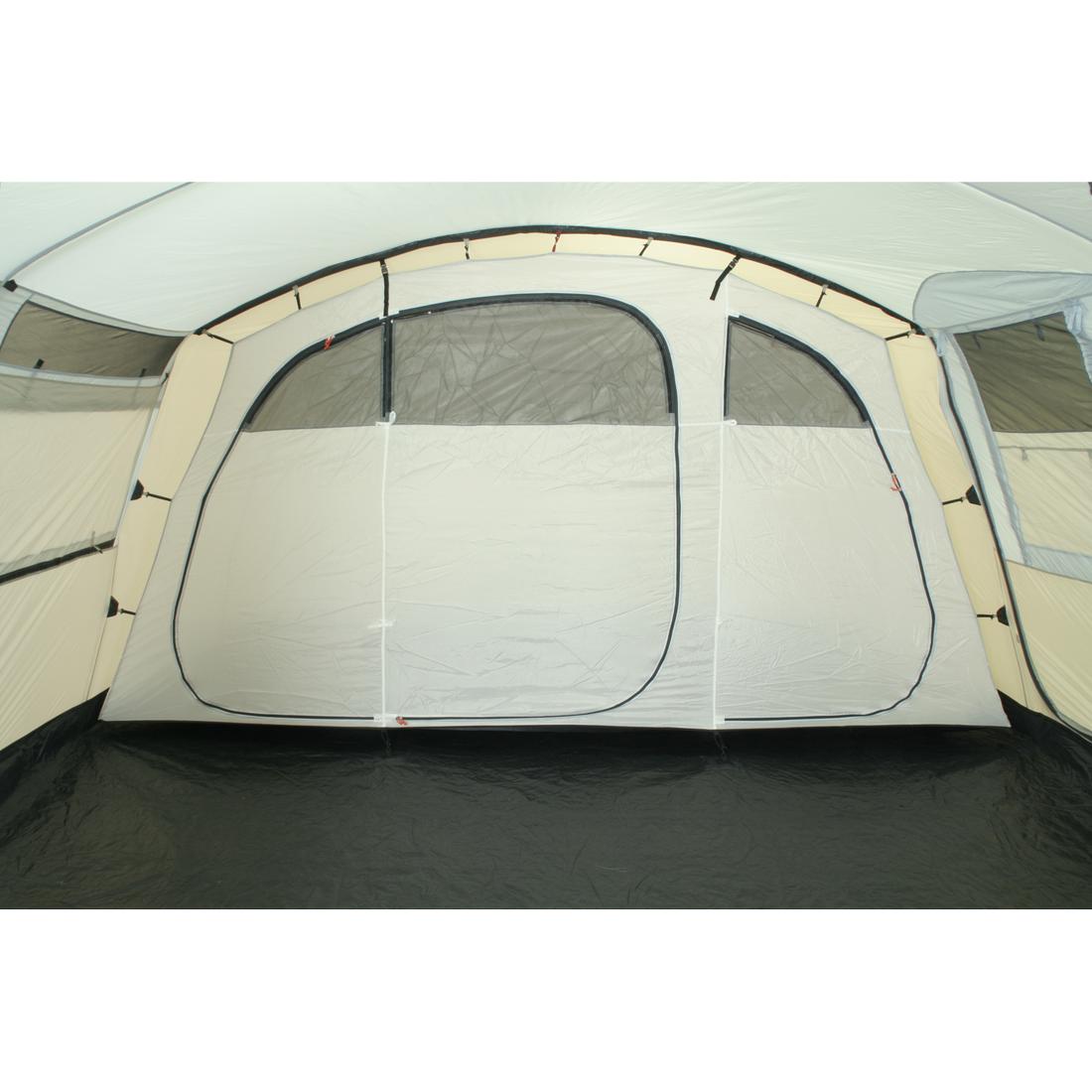10t sorrento 6 6 personen tunnel zelt mit vordach teilbare schlafkabine voll b ebay. Black Bedroom Furniture Sets. Home Design Ideas