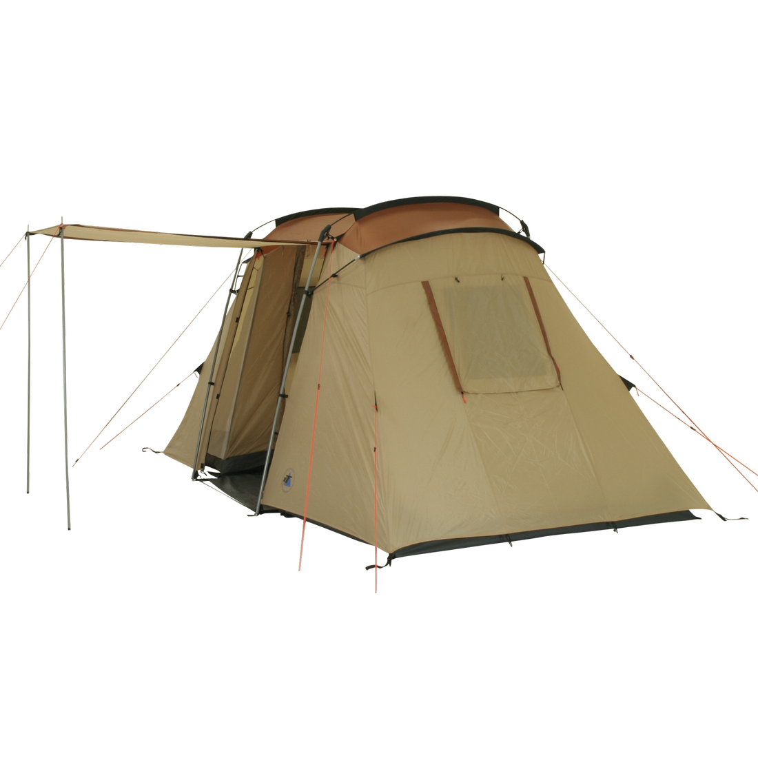 10t delano 4 4 person vis a vis tunnel tent 200 cm standing height ws 5000 m. Black Bedroom Furniture Sets. Home Design Ideas