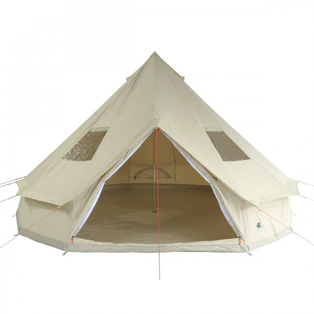10T Outdoor Equipment - DESERT 10 - Image 1  sc 1 st  C&ing-Outdoor.eu & Buy 10T Desert 10 - 10 person cotton pyramid tent sewn in ground ...