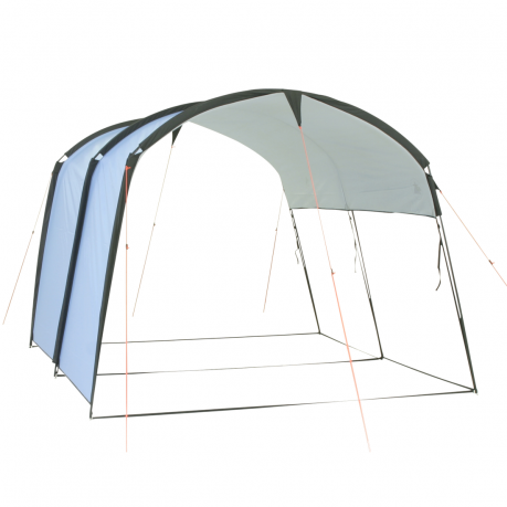 10T Addison UV50 Tunnel Pavillon Partyzelt Sonnenschutz Zelt-Erweiterung 2,9x2,5