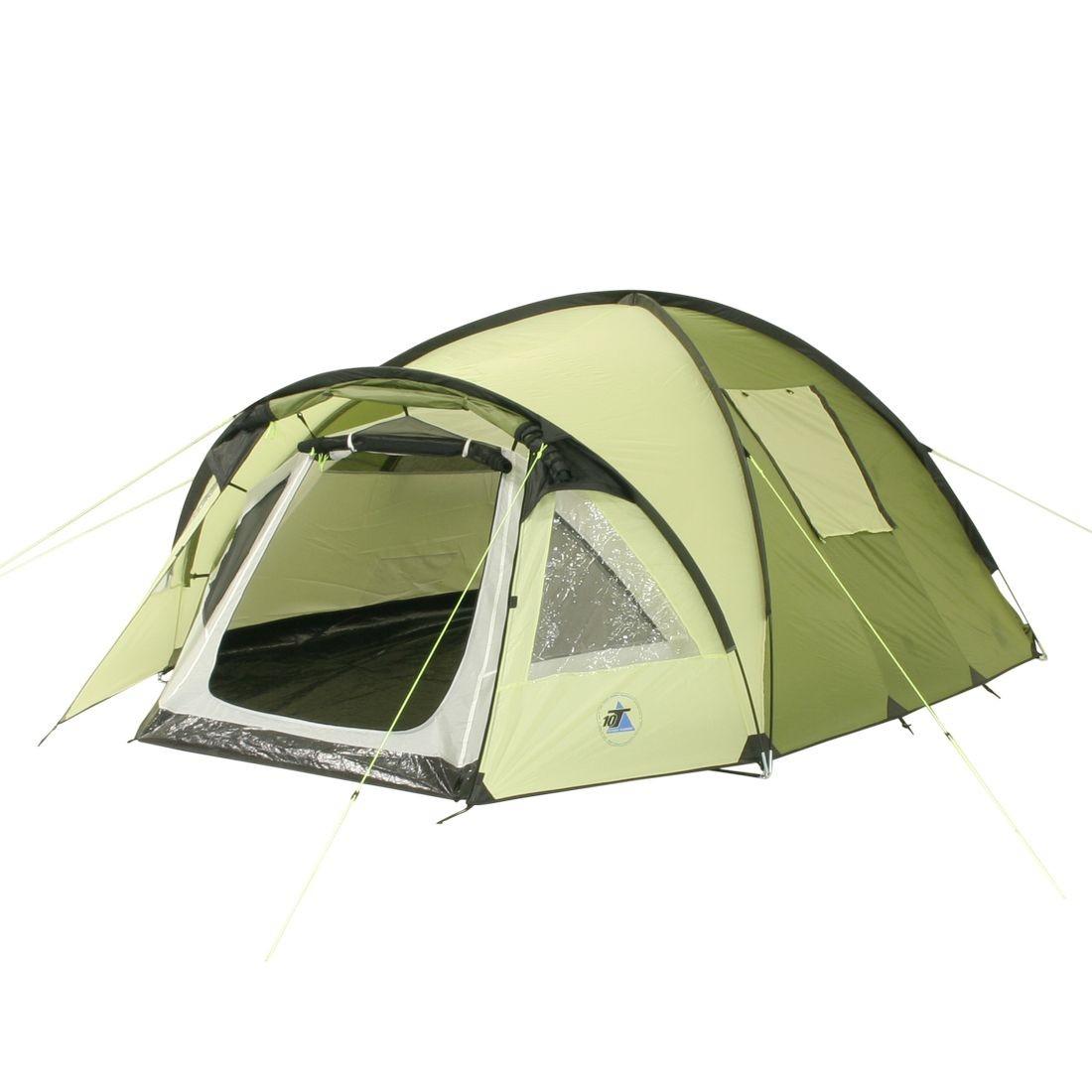 10t glenhill 3 lime 3 personen kuppelzelt campingzelt. Black Bedroom Furniture Sets. Home Design Ideas