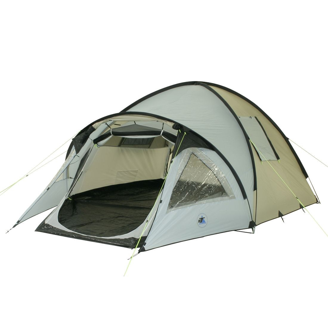 10T Outdoor Equipment - GLENHILL 4 - Image 1  sc 1 st  C&ing-Outdoor.eu & Buy 10T Glenhill 4 Stone - 4 person dome tent camping tent with ...
