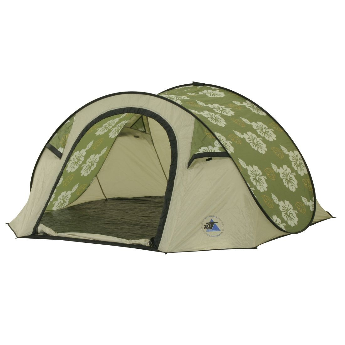 10T Outdoor Equipment - Flowerpop 3 - Image 1  sc 1 st  C&ing-Outdoor.eu & Buy 10T Flowerpop 3 - 3-person pop-up tent with sewn in ground ...