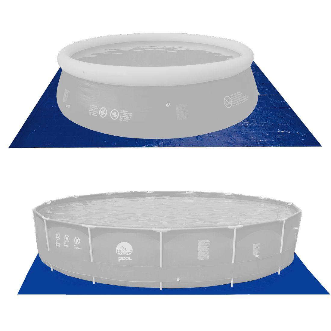 Achetez jilong gc 570x570 b che de fond pour piscines for Bache fond piscine