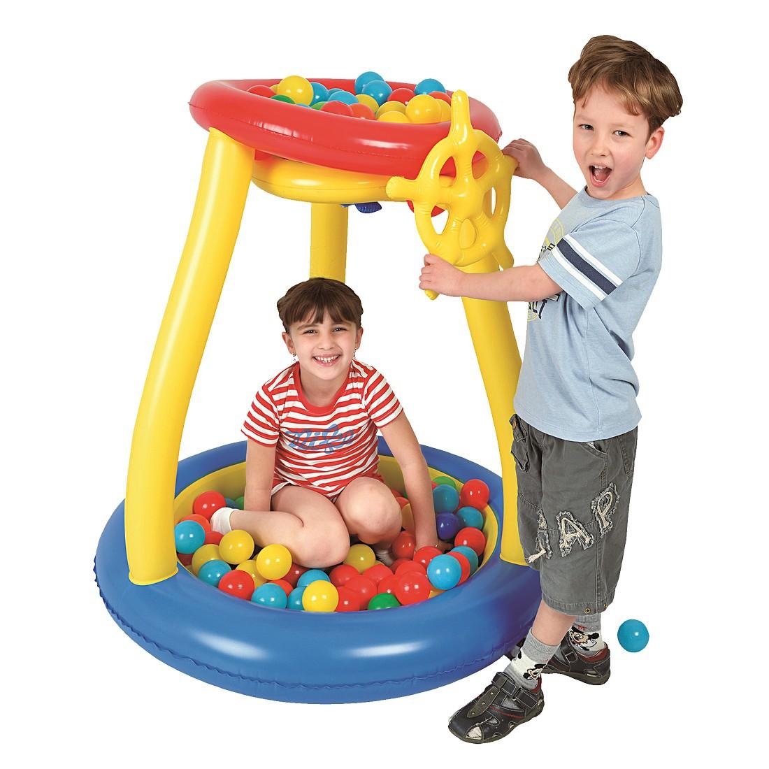 jilong pit ball play pool b llebad ballpool f r kinder inkl 25 b lle f r kinder ab 3 jahre. Black Bedroom Furniture Sets. Home Design Ideas