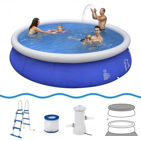 Comprare jilong prompt set pool marin blue 450 set set for Comprare piscina
