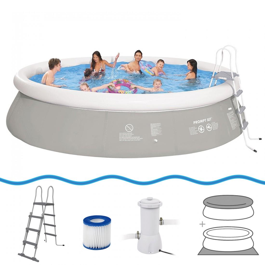 Comprare jilong prompt set pool marin grey 540h set for Comprare piscina
