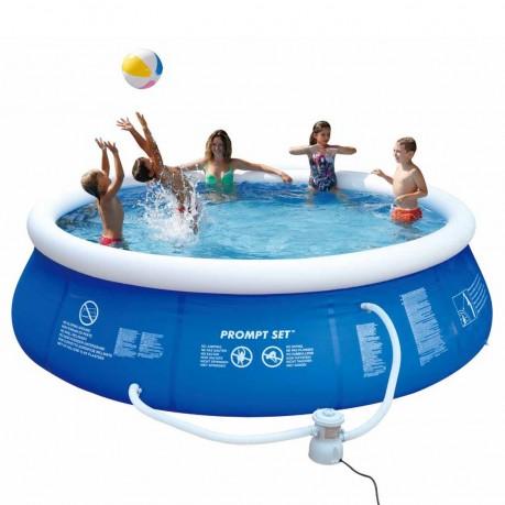 Comprare jilong prompt set blue 360 set set piscina for Comprare piscina