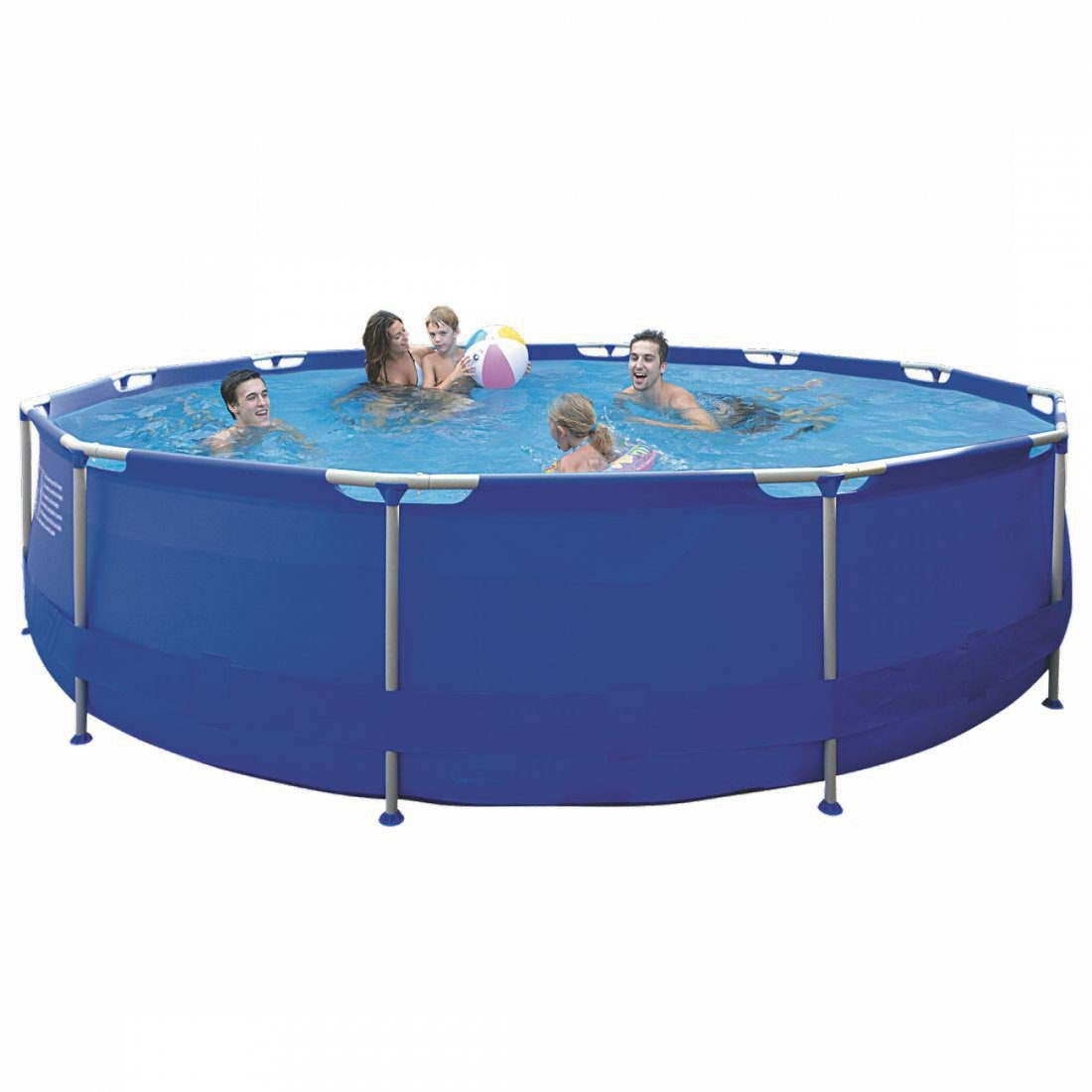 Buy jilong sirocco blue 420 steel frame pool round pool for A frame pools and spas
