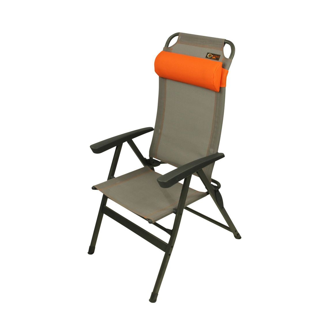 Portal ken aluminium camping chair high back incl for Best folding chairs outdoor