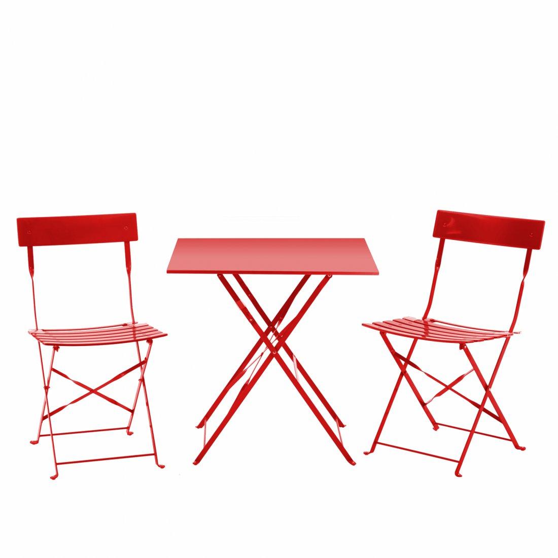 Westfield Home U0026 Garden   Coral Set  Square Table Red   Bild 1